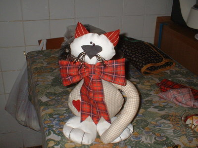 gatto di stoffa