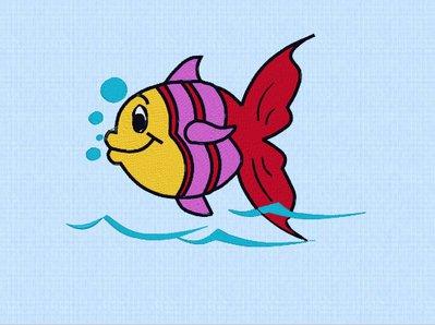 pesciolino ricamo pes, embroidery design. INSTANT DOWNLOAD