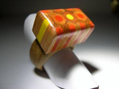 anello in legno