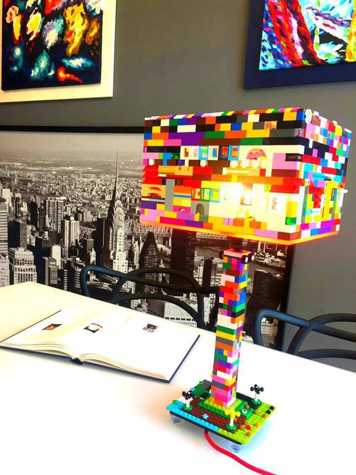 Lampada Brick Light