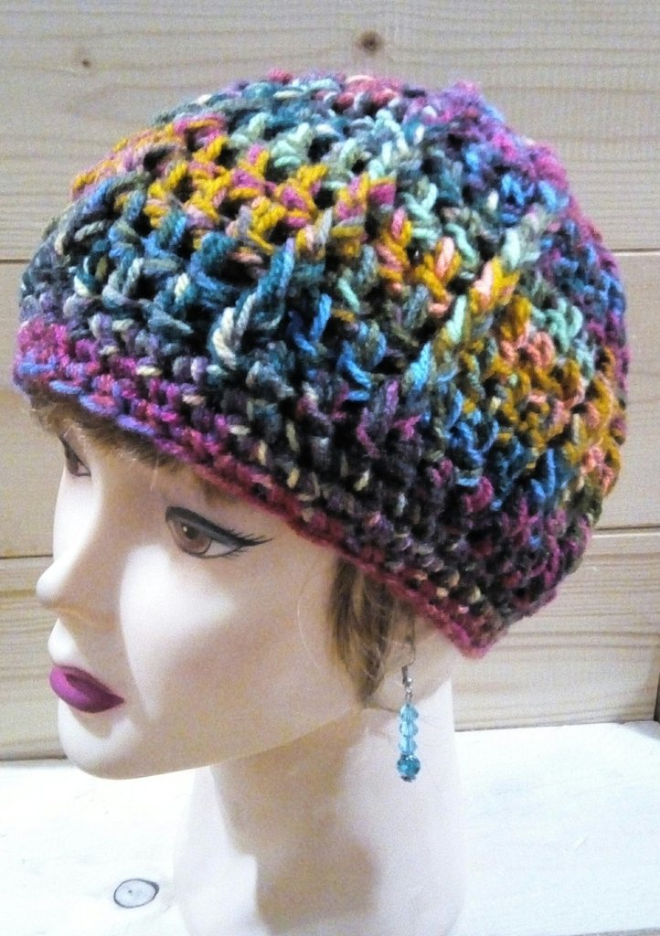 Cappello da donna multicolore