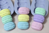 Macaron Stampo-Stampo in Silicone-Stampi Silicone-Stampo per il Fimo-Stampo Dollhouse-Stampo Miniature-Stampini per il Fimo-Stampo-Stampi-Silicone-Stampo Resina-Stampo Alimentare-Stampo Gesso-Stampo Sapone-Fimo-Handmade-Made in Italy-ST159