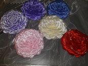 Bouquet damigella raso