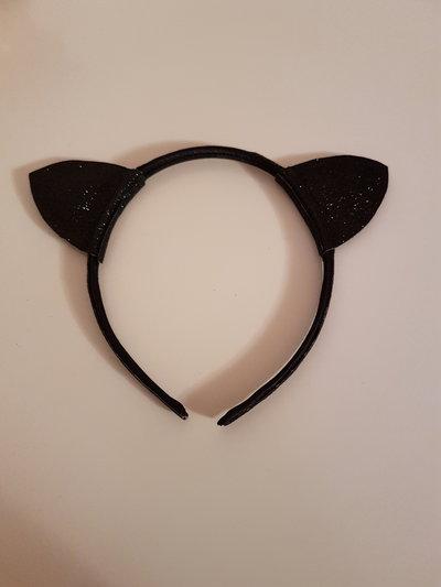 Cerchietto gattino, Cerchietto con orecchie, Accessori carnevale