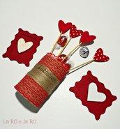 Confezione rosso passione per il tuo San Valentino