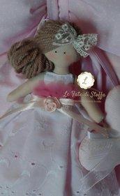Fiocco nascita bimba con bambolina in promozione