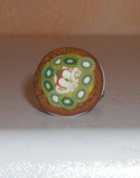 anello crostata frutta