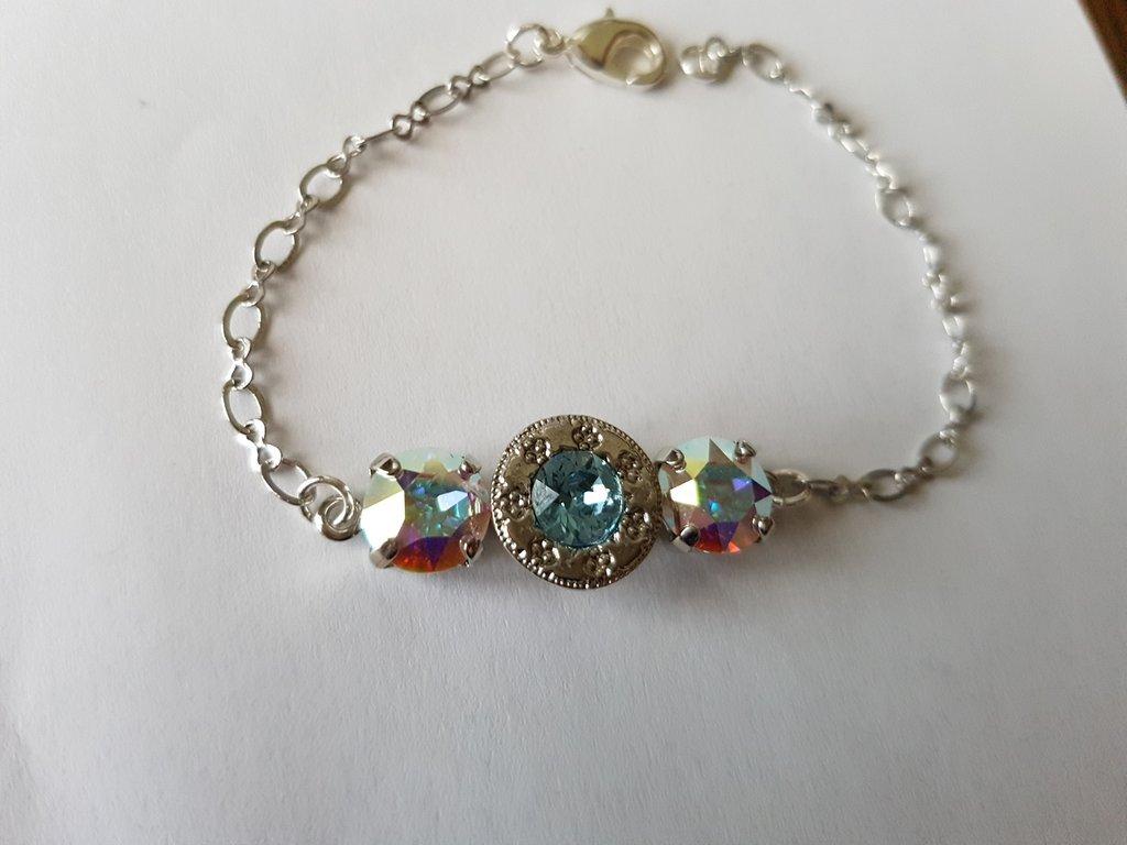 Bracciale Crystal Aquamarine