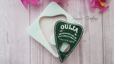 Stampo Ouija Planchette, 6 cm, ideale per Resina e Paste Polimeriche