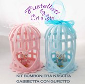 Kit mini gabbietta/gufetto