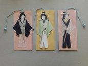 segnalibri in cartoncino mod. samurai