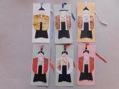 segnalibri in cartoncino mod. bushido