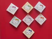 segnalibri angolari in cartoncino mod. Hello Kitty