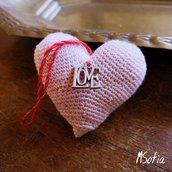 VALENTINE'S DAY cuore amigurumi