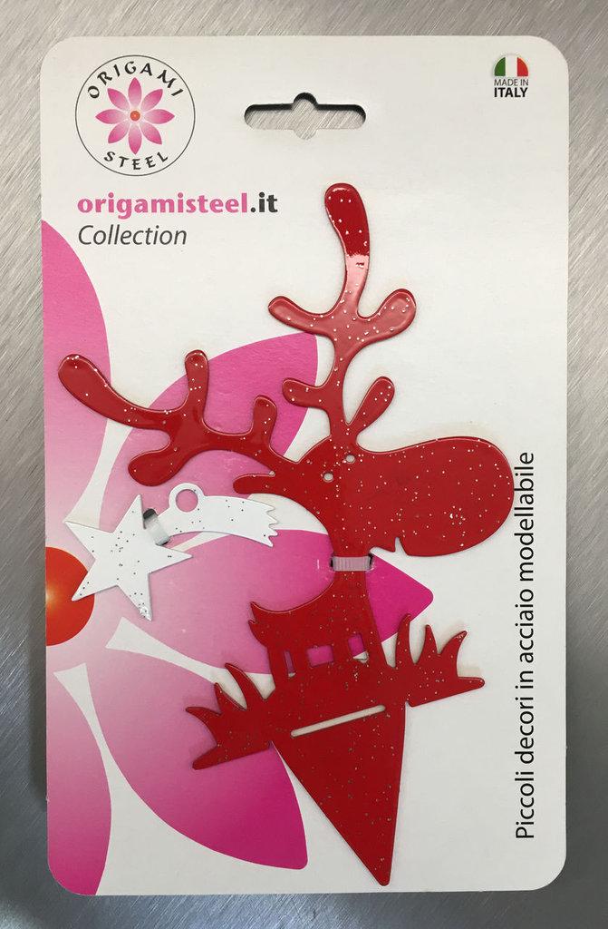 Allegro blister natalizio con decori assortiti