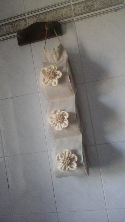 Porta rotoli cartaigienica shabby-chic