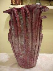 vaso, porta fiori, arredo per la casa e per esterni, fatto a mano