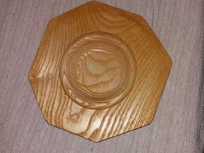 Centrotavola in legno tornito