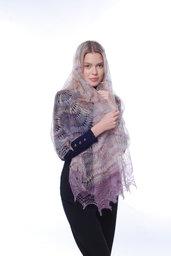 mantellina di lana, mantello di lana, scialle, scielle di lana, scialle caldo, aggiornato, mantellina, lana di capra, multicolore, sciarpa, un regalo per lei