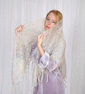 mantellina di lana, stola lana, mantello di lana, sciarpa, sciarpa di lana, mantellina, lana di capra, colore della menta, scialle, scialle caldo, scialle di lana, handmade