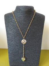 Collana rosario con ciondolo