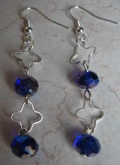 Orecchini flor&blue