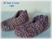 Babbucce di lana taglia 37/40
