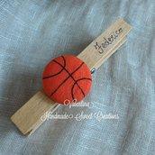 Molletta basket personalizzata