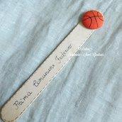 Segnalibro tema pallacanestro