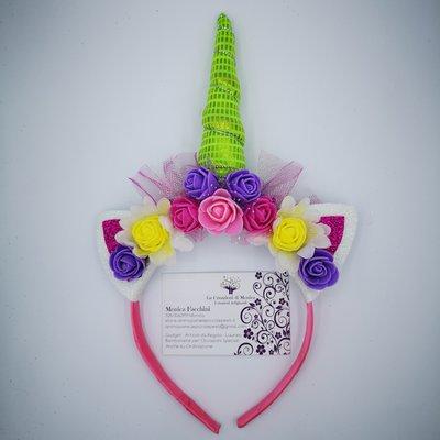 Cerchietto Unicorno - Multicolore