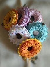 Ciambelline donuts Amigurumi