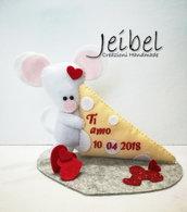 topo formaggio san valentino, regalo, compleanno, gift