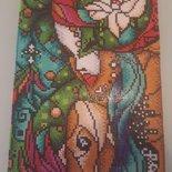 Quadro mosaico con cornice a giorno misura 23x33