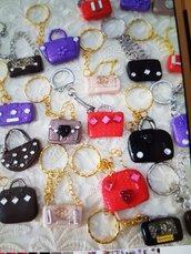 portachiavi borsette riservato