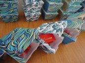Scatolini portaconfetti bomboniere tema marino