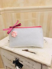 Pochette mini  con zip