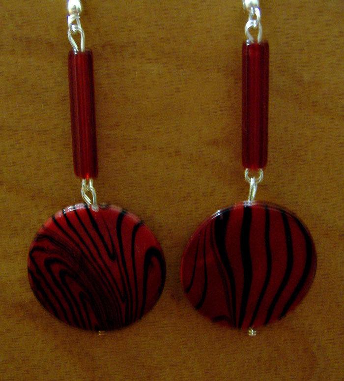 Orecchini Rosso Passion