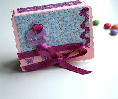 "Scatolina regalo ""Pink Muffin"""