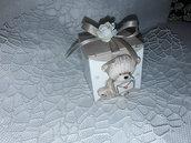 Bomboniera orsetto scatolina