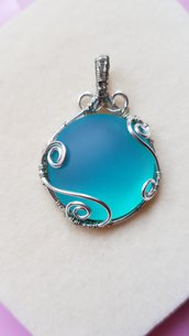 Ciondolo Blue moon
