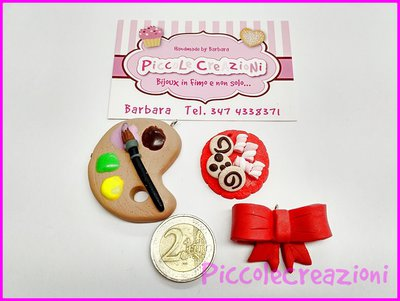 STOCK CIONDOLI BIG FIMO MIX HANDMADE 3