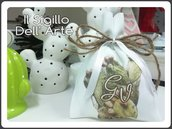 Sacchettini Stile Siciliano Sicilia matrimonio