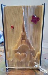 Libro scultura Torre Eiffel