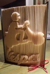 libro scultura moto vespa