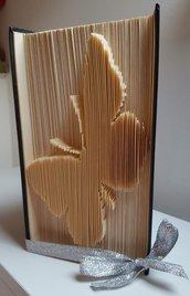 libro scultura farfalla semplice