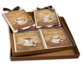 IDEA REGALO SET QUADRETTI SHABBY CHIC COUNTRY ARREDAMENTI CUCINA 15x15 ART sr9