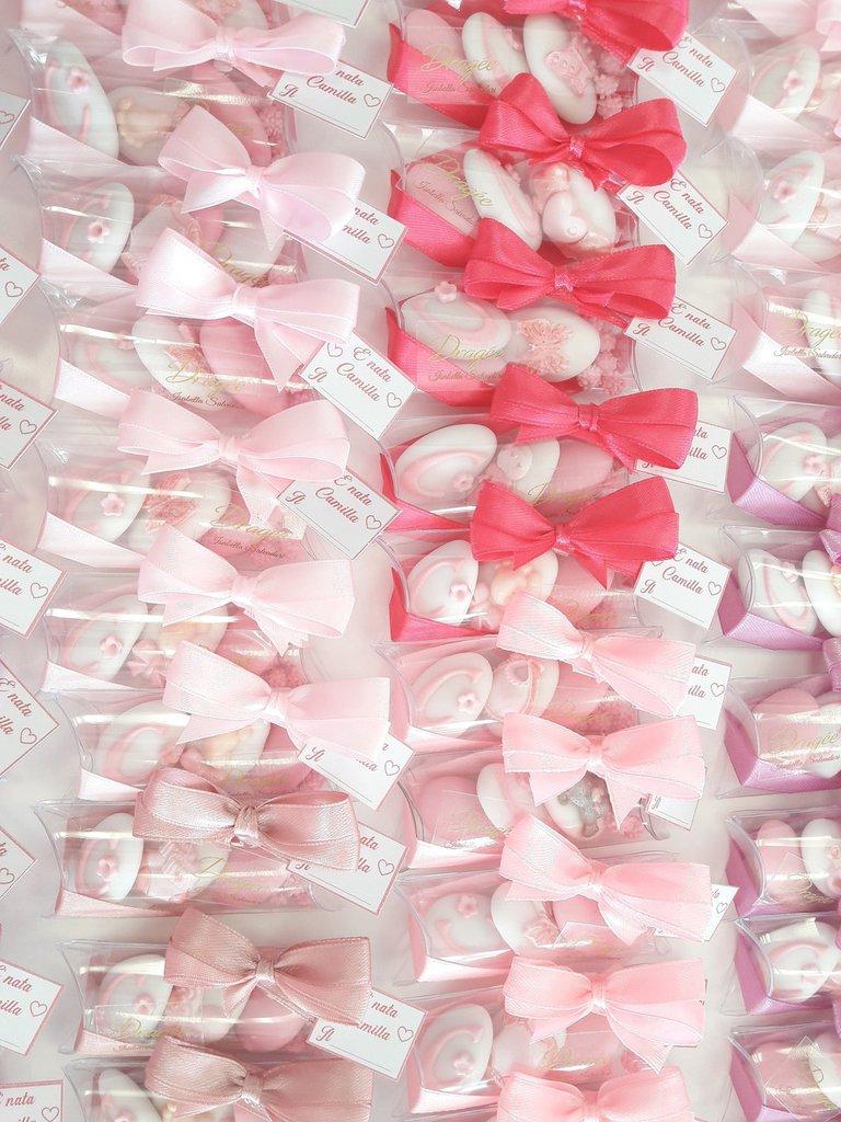Pacchettino da 3 confetti - confetti nascita - confetti battesimo - segnaposto battesimo - confettata nascita - confettata battesimo