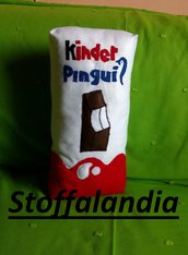 KINDER PINGUI' CUSCINO IDEA REGALO
