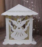 fustellato lanterna angelo