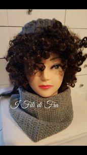 Cappello donna maxi per capelli ricci o voluminosi